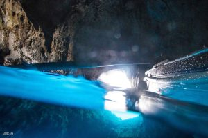 Blue grotto split